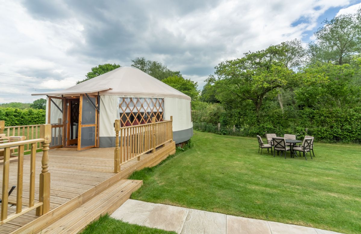 Situated in picturesque countryside near East Hoathly, Willow Yurt offers something very different from the usual glamping experience