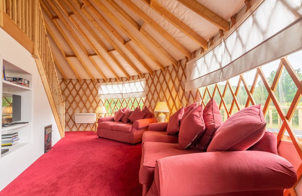 Willow Yurt, Sussex, England