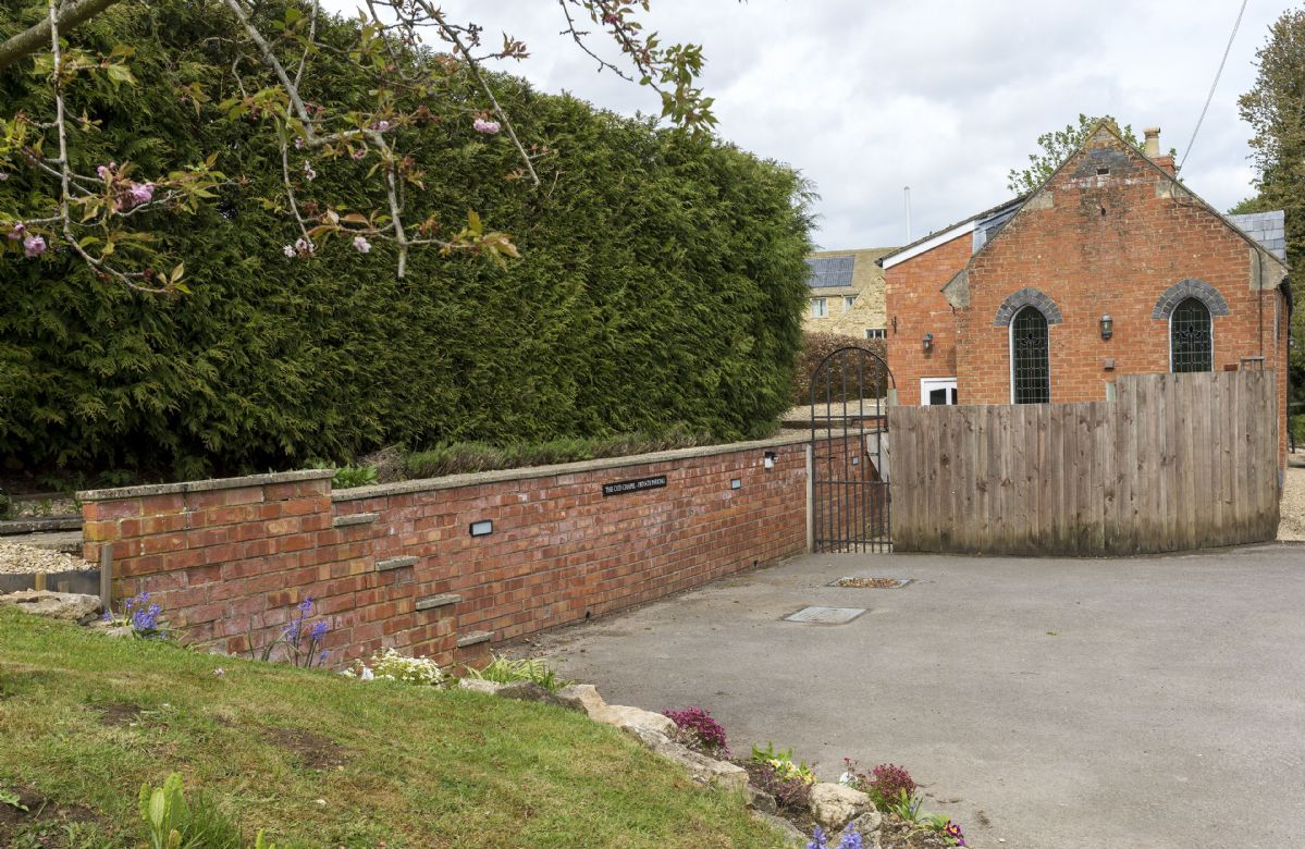 Private parking for guests staying at The Old Chapel