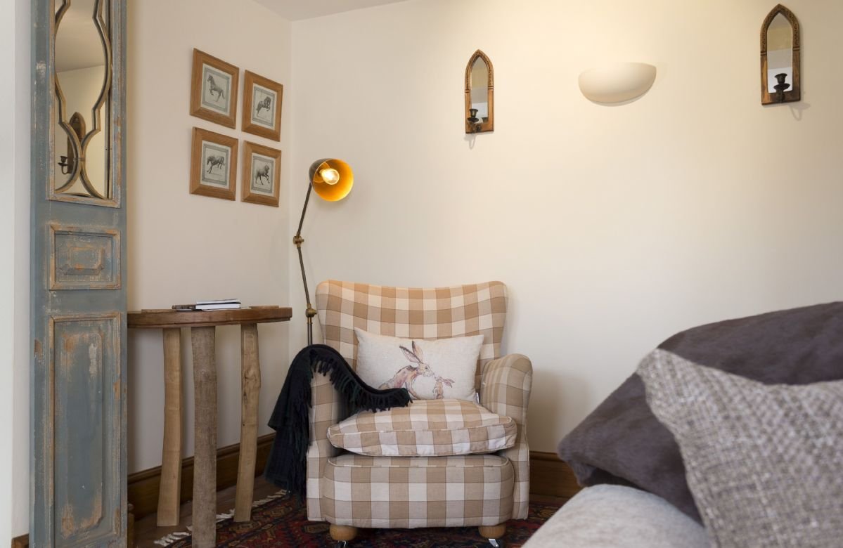 Ground floor: Cosy seating area in the sitting room