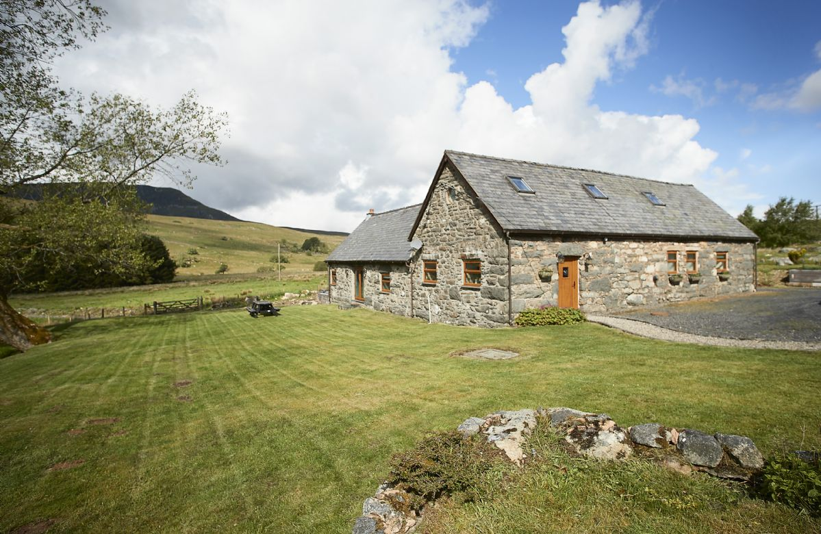 Llyn Golygfa, Gwynedd, Wales