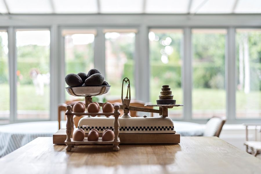 Claremont House | Eggs!