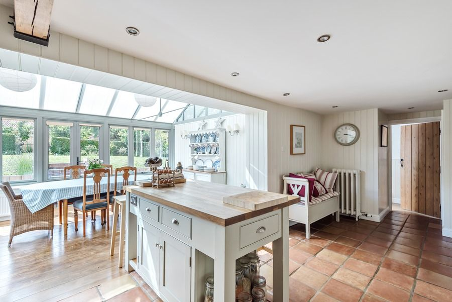 Claremont House | Kitchen and garden room