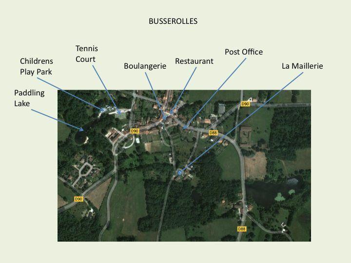 La Maillerie Gites - La Rive, Busserolles