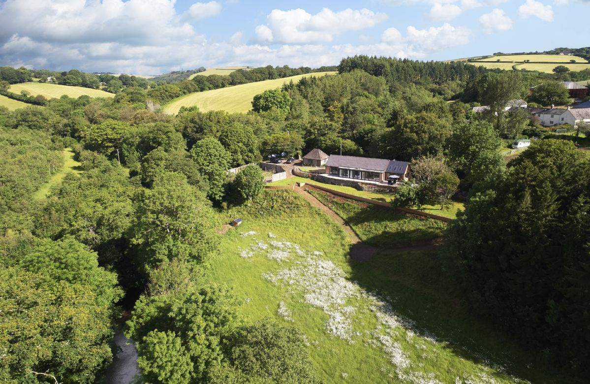Teign Vale is a beautifully renovated holiday cottage, nestled in the picturesque woodlands of the Teign Valley