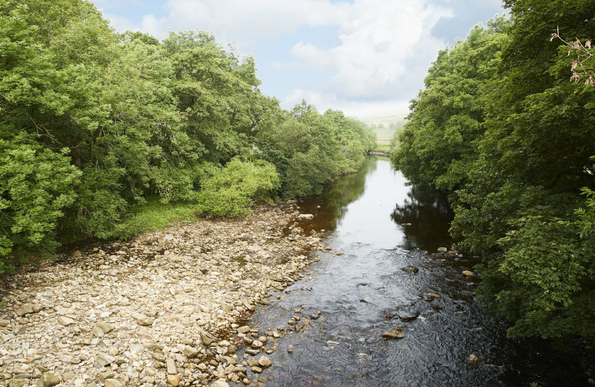 Fishing permits are available in Richmond and Reeth