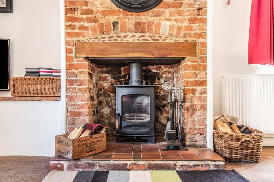 Hare Cottage | Wood burning stove