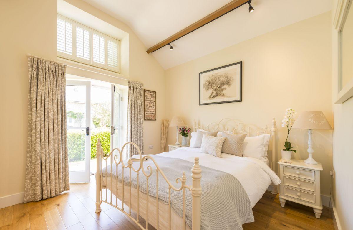 Ground floor:  Light filled bedroom