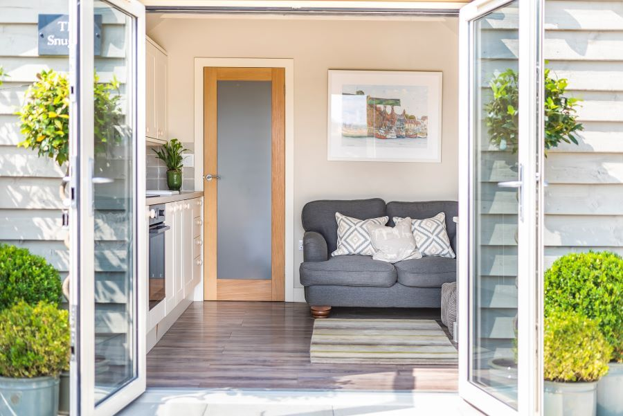The Snuggle | Patio doors