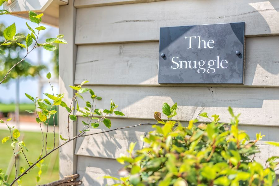 The Snuggle | Sign