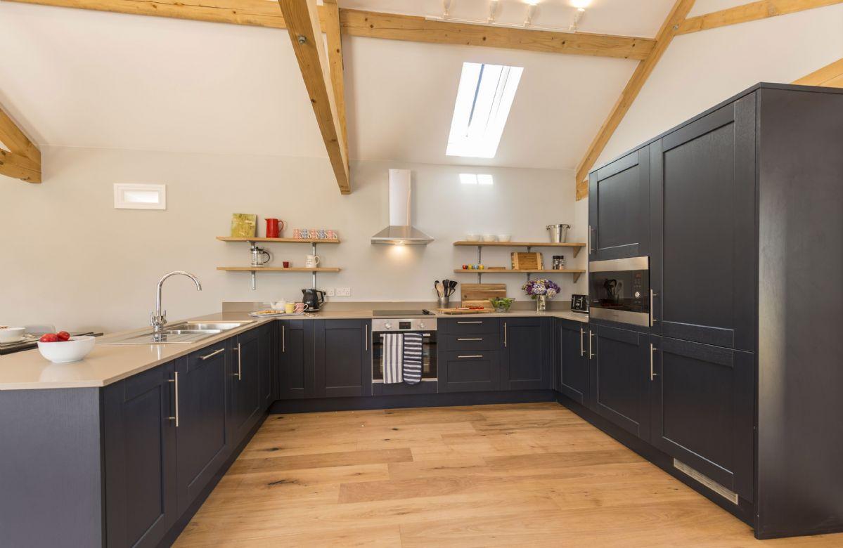 Ground floor:  Well-equipped kitchen