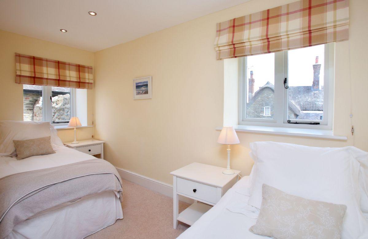 Ground floor:  Bedroom with twin beds