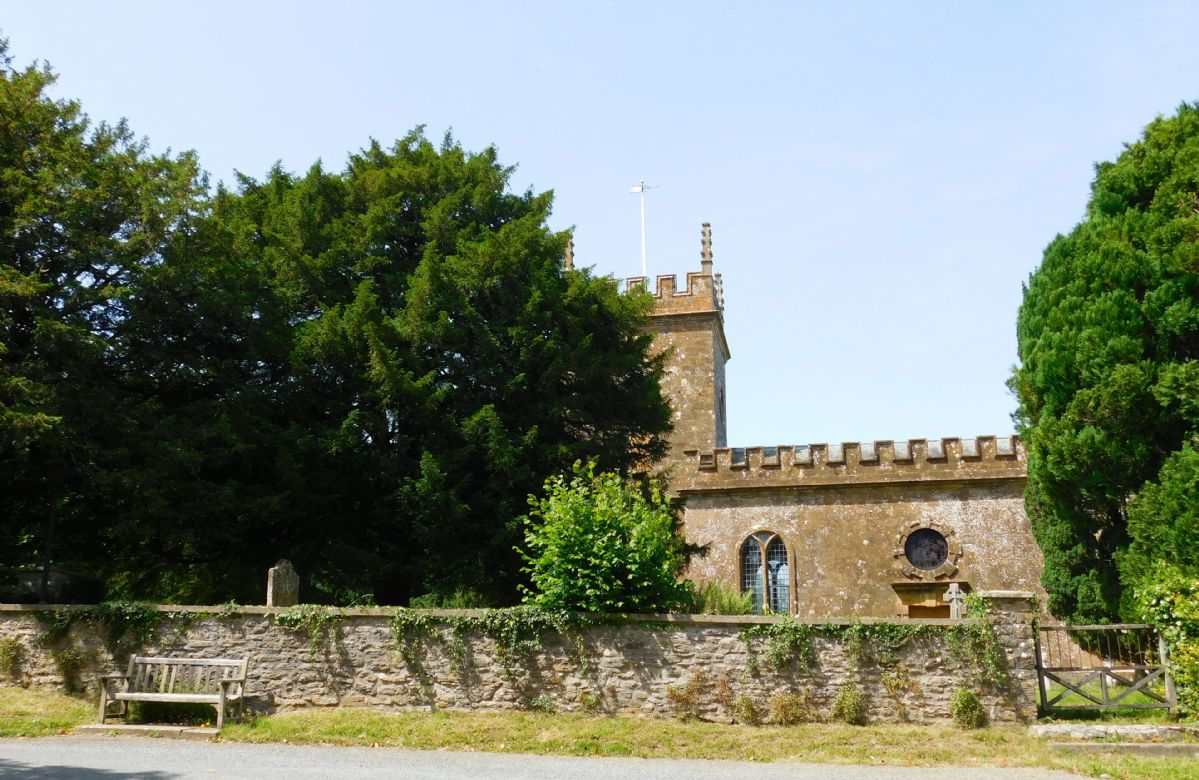 The church in Melbury Osmond