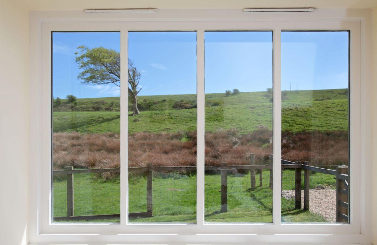 Stunning views from bedroom one