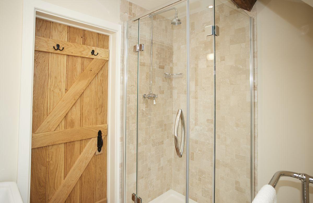 First floor: En-suite shower room belonging to Bedroom 2
