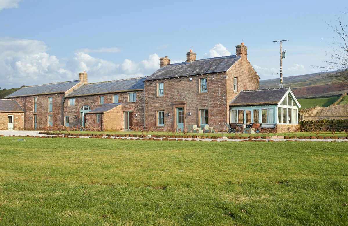 Todd Hills Hall Farm is located in the rolling landscape of the Eden Valley