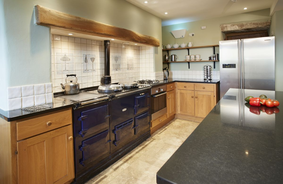 Ground floor: Breakfasting kitchen which leads to utility rooms