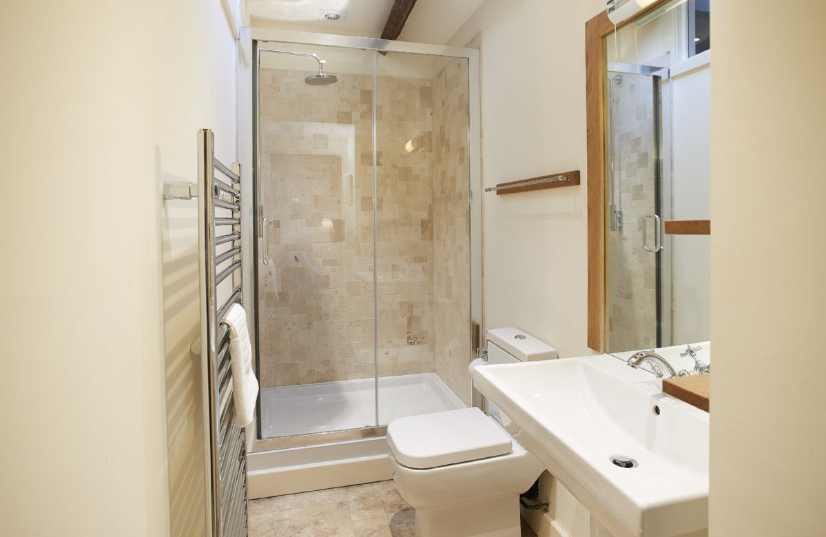 Hause Hall Farm, First floor: The Martindale en-suite shower room