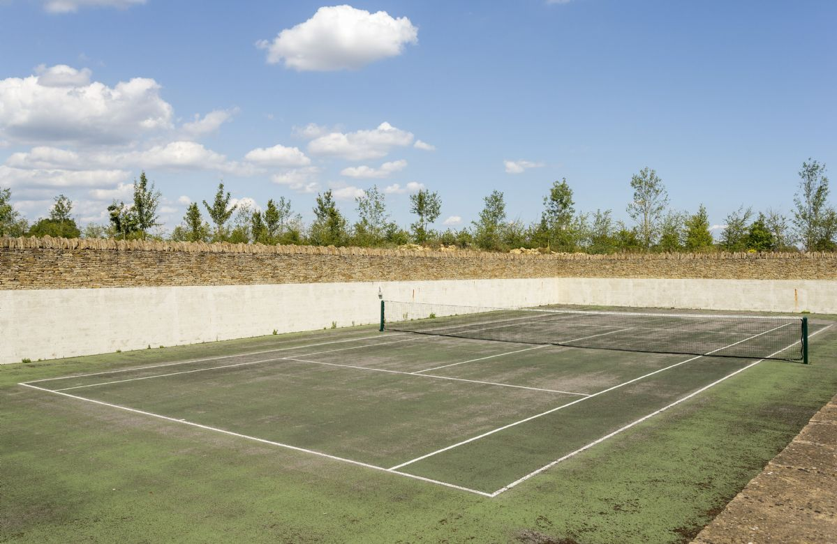 Hard surface tennis court (please bring your own tennis racquets and balls)