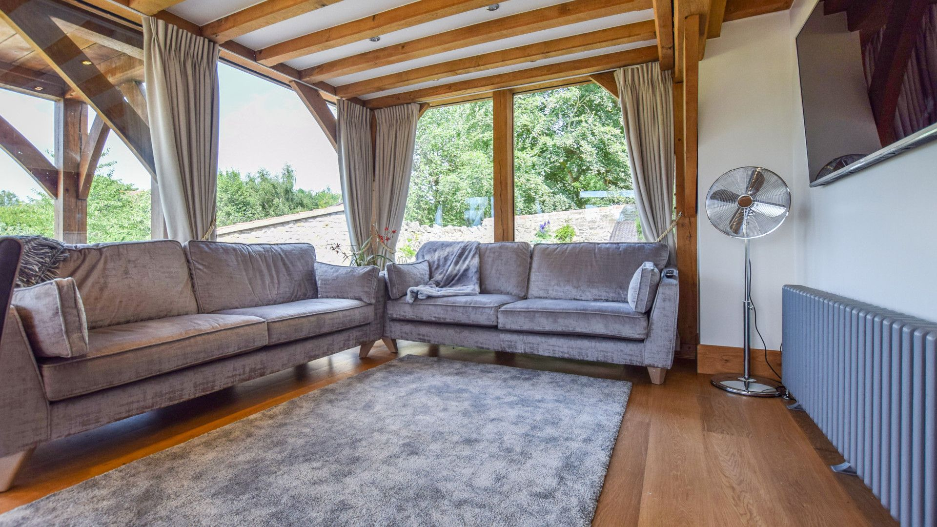 Living area, Old Oak House, Bolthole Retreats