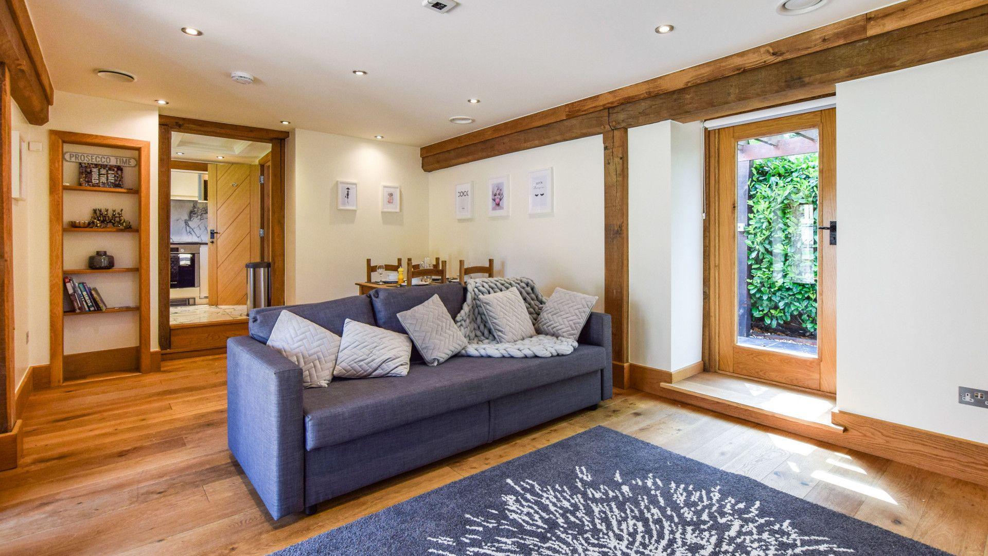 Annexe living room, Old Oak House, Bolthole Retreats