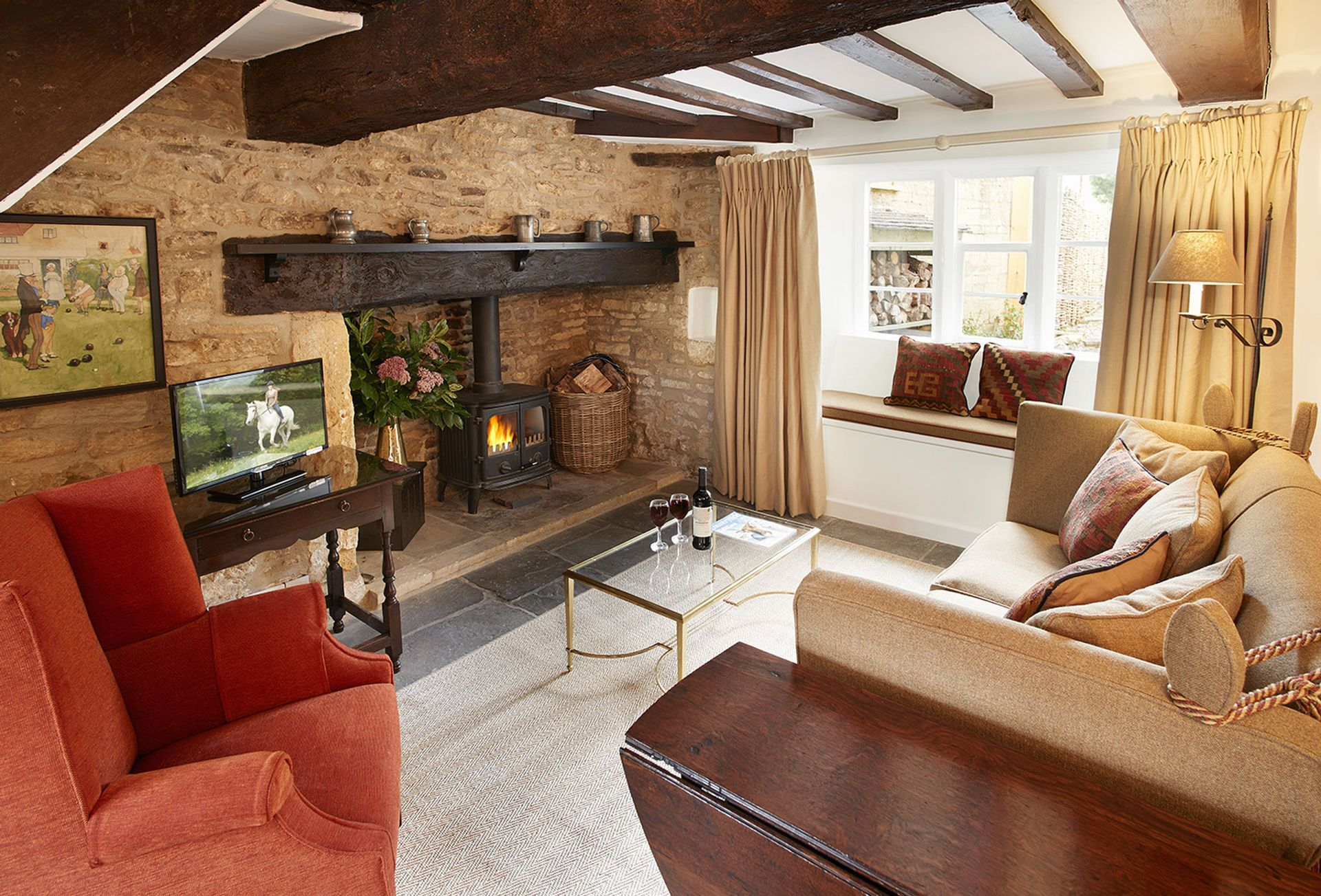 Astounding Felltree Cottage Stow On The Wold And Surrounding Villages Home Interior And Landscaping Palasignezvosmurscom