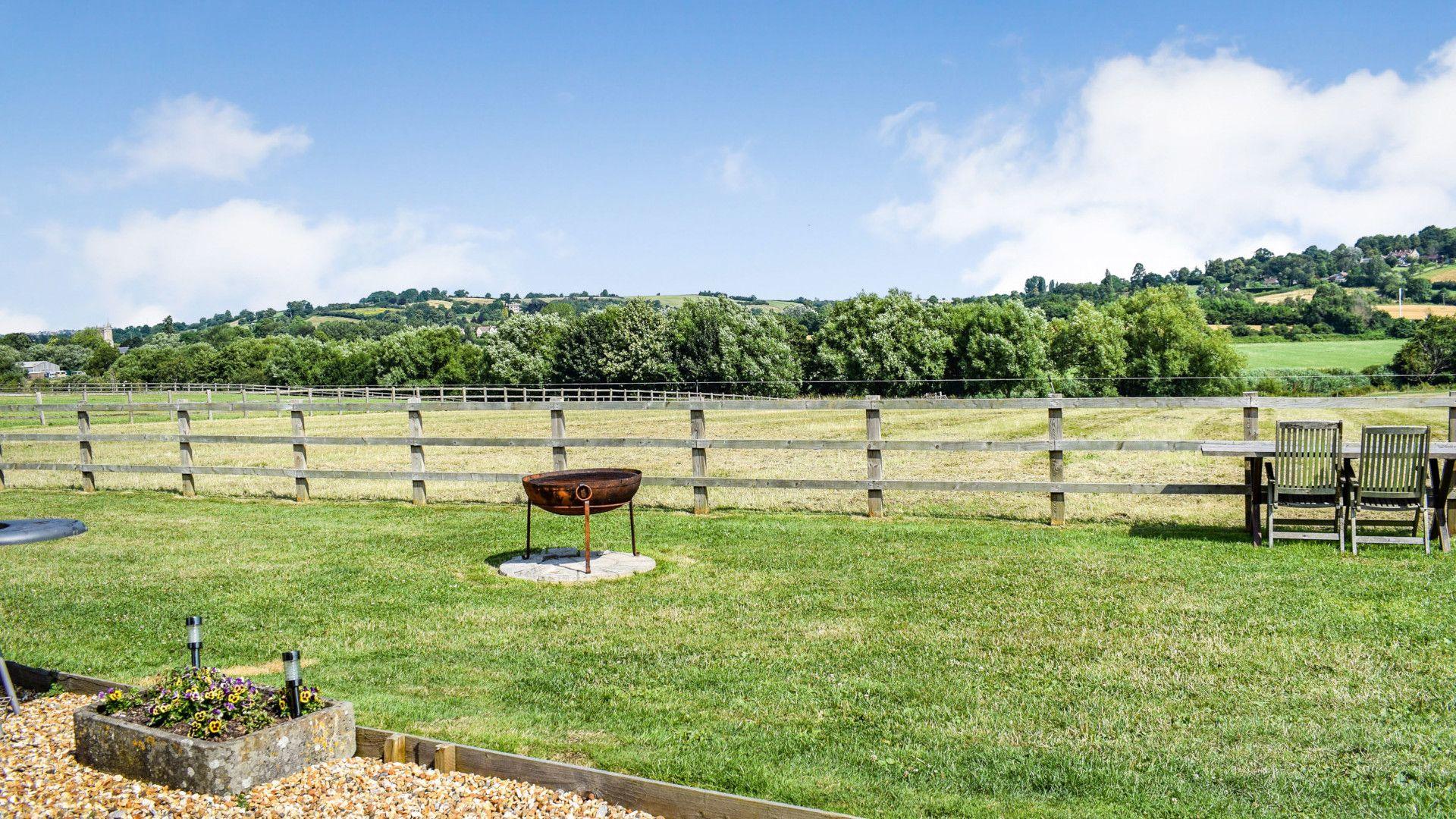 Views from hut, Shepherds Hut at Avon Farm, Bolthole Retreats