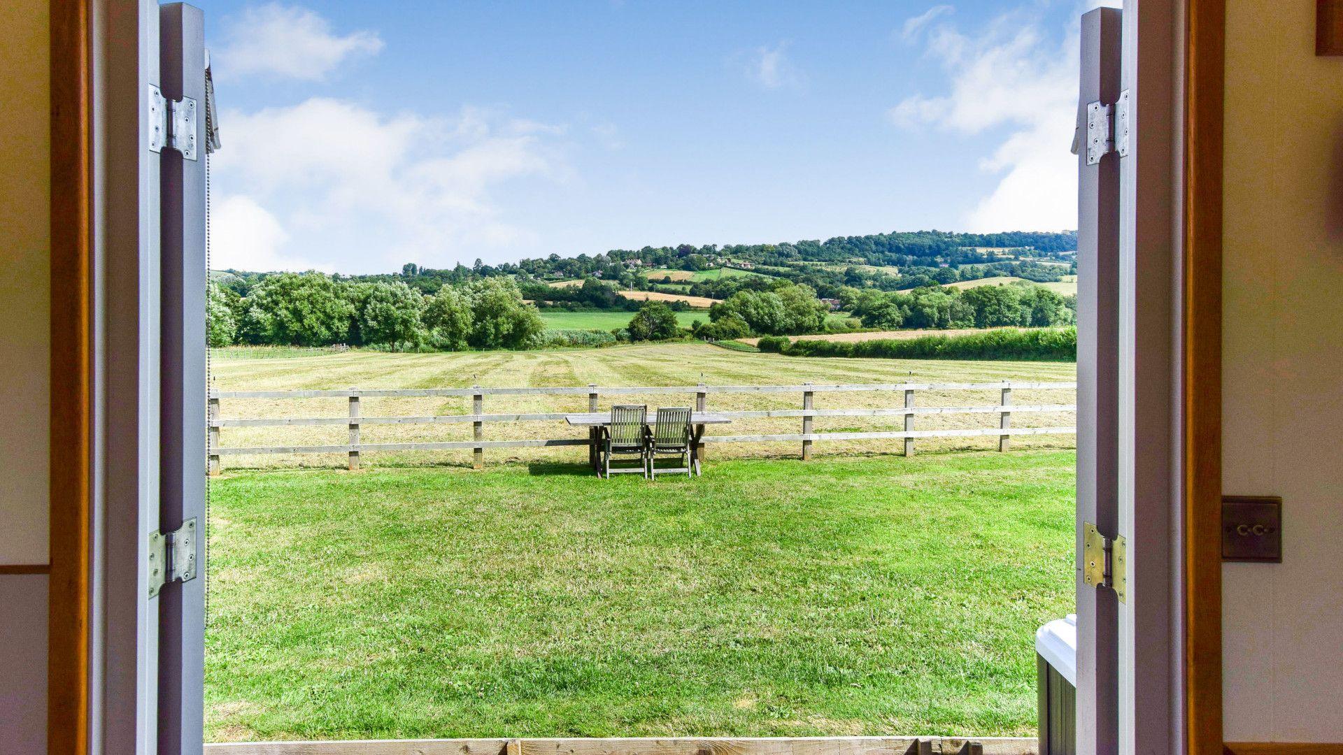 Hut views, Shepherds Hut at Avon Farm, Bolthole Retreats