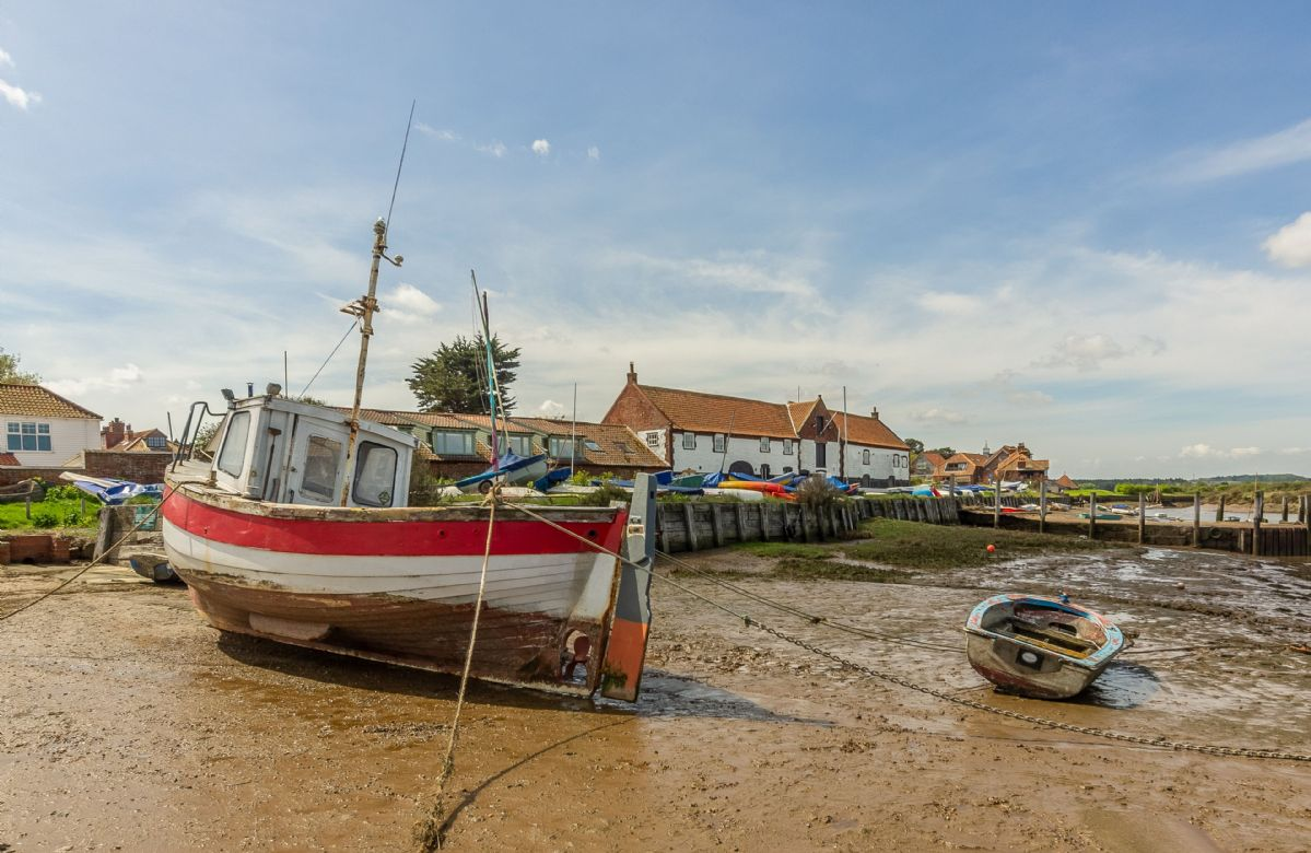 Nearby fishing village perfect for a family outing
