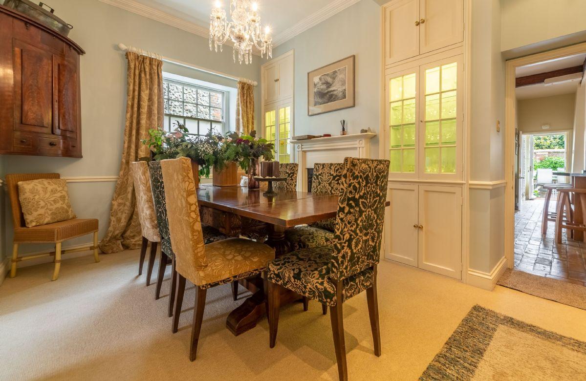Ground floor: Formal dining room