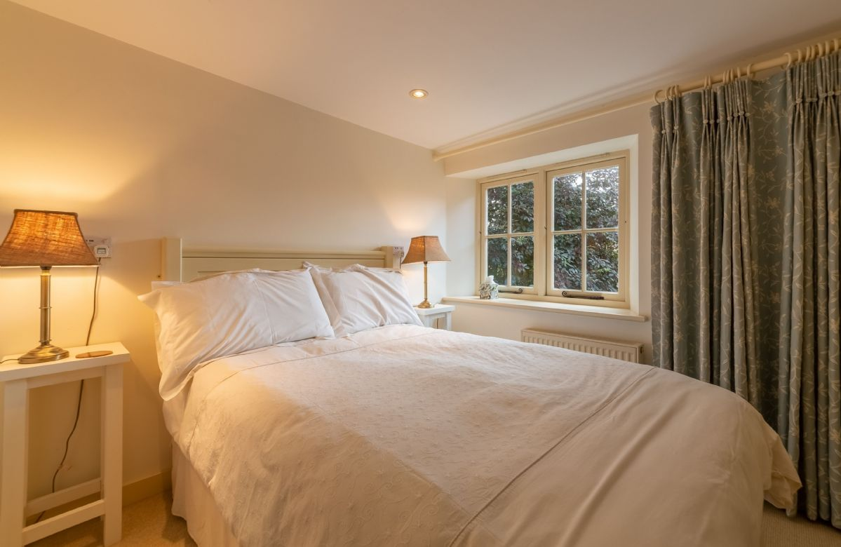 First floor: Bedroom five with a 4' double bed