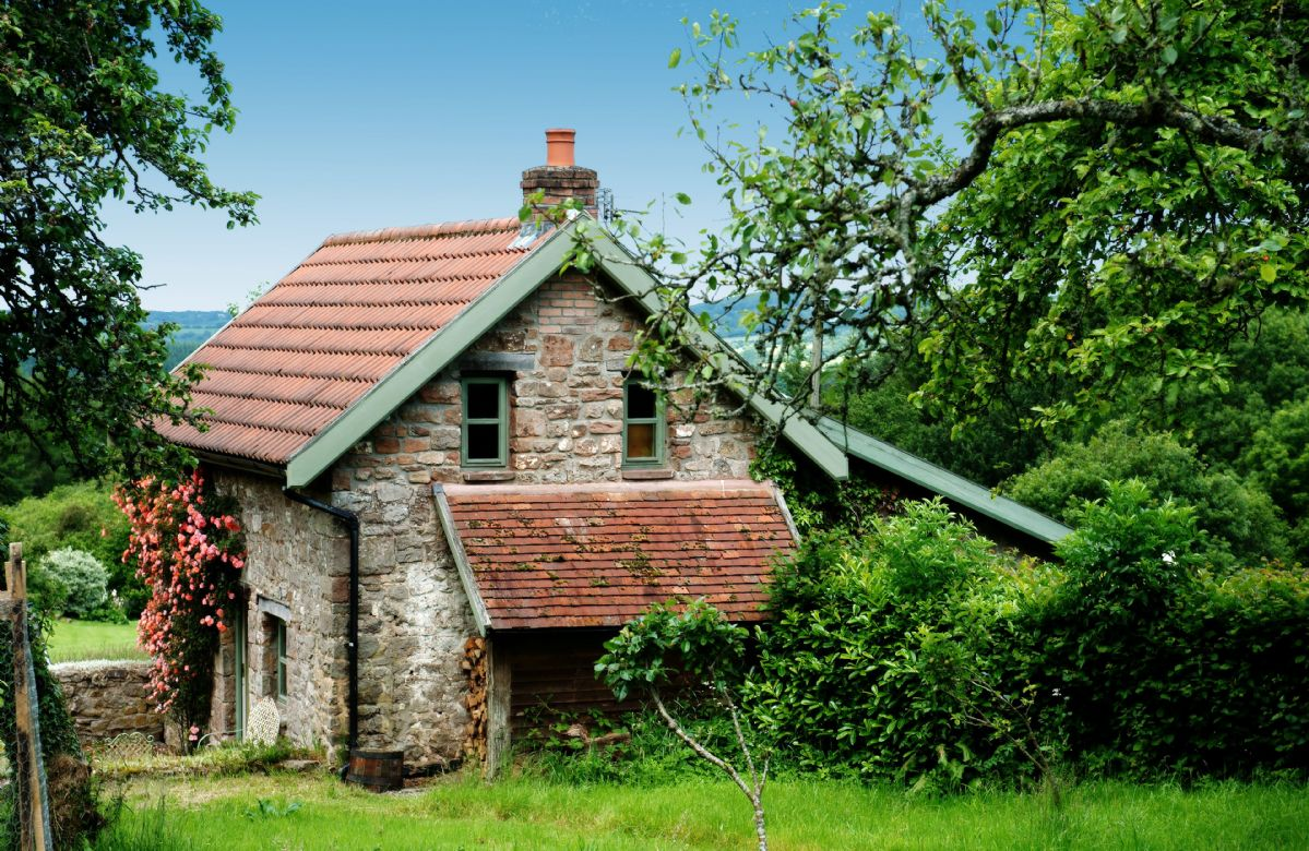 Orchard Cottage situated in the rural location of Penterry, a peaceful Wye Valley hamlet steeped in history