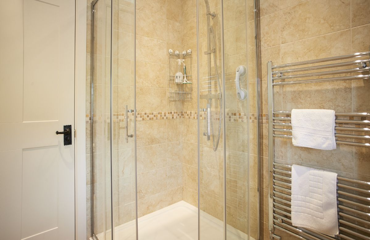 Ground floor: Large shower room with walk in shower