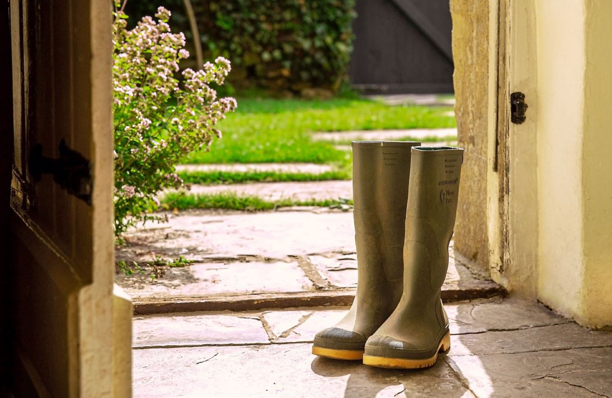 Don't forget your wellington boots!