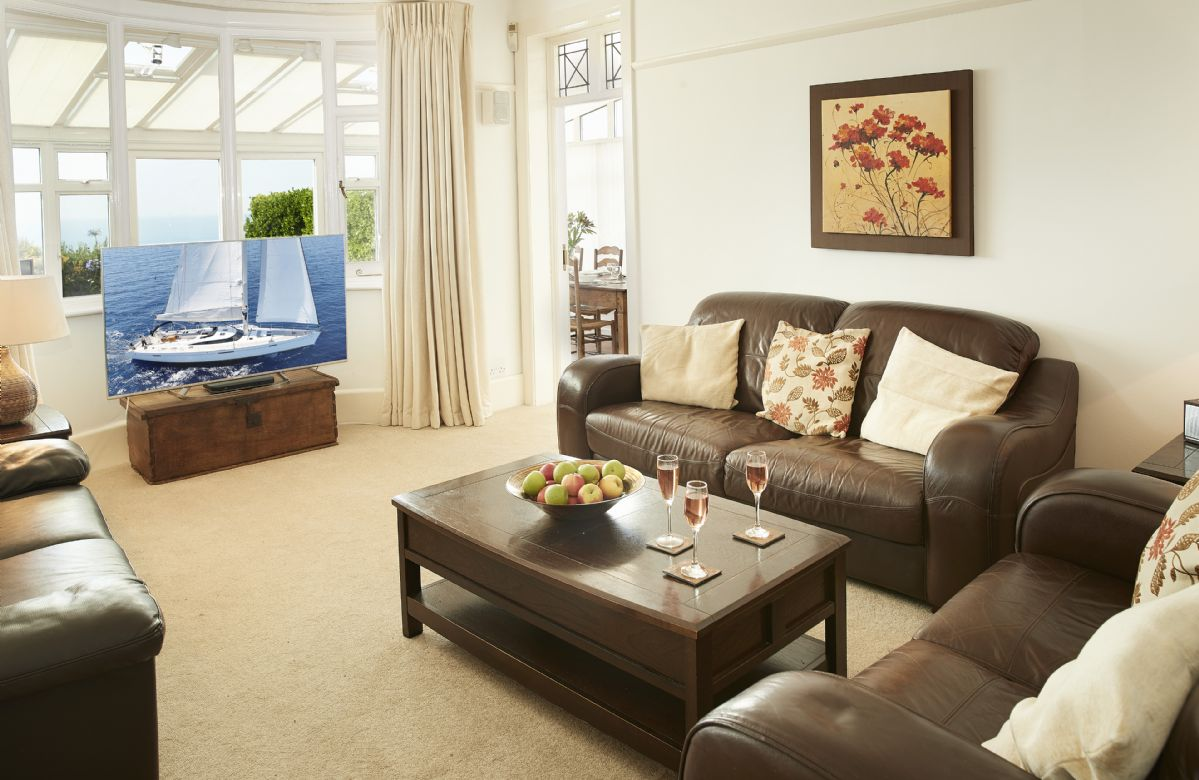 Ground floor: Comfortable sitting room