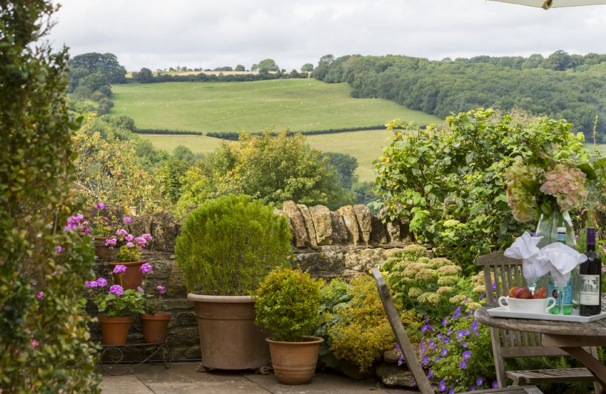 Idyllic views from the garden