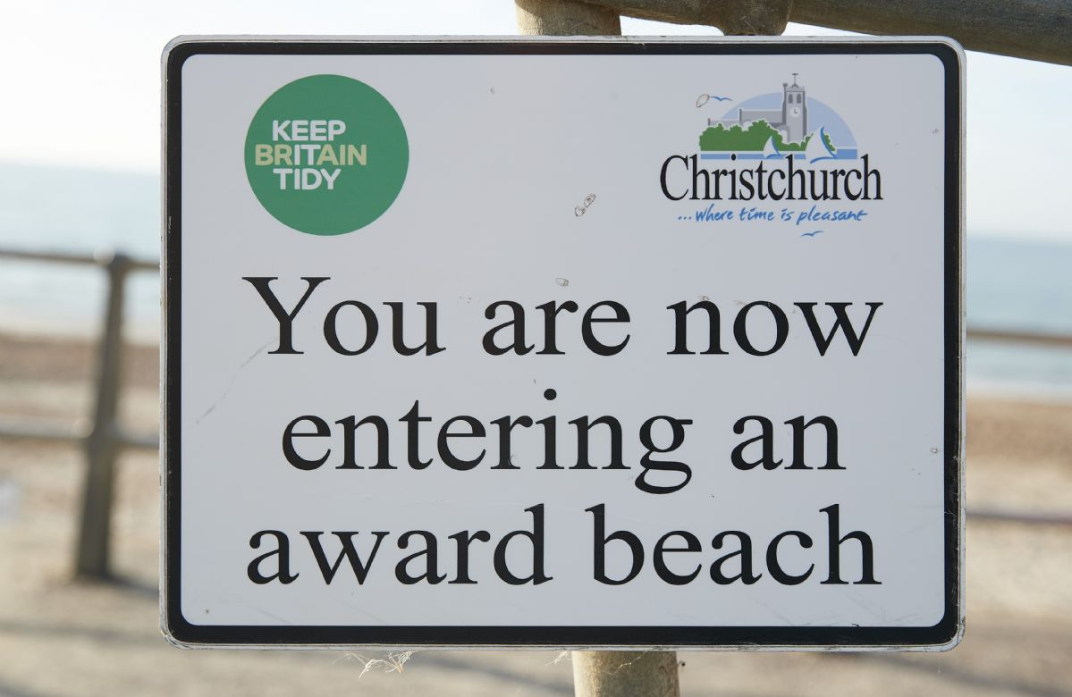 Christchurch and Southbourne are both Blue Flag award winning beaches