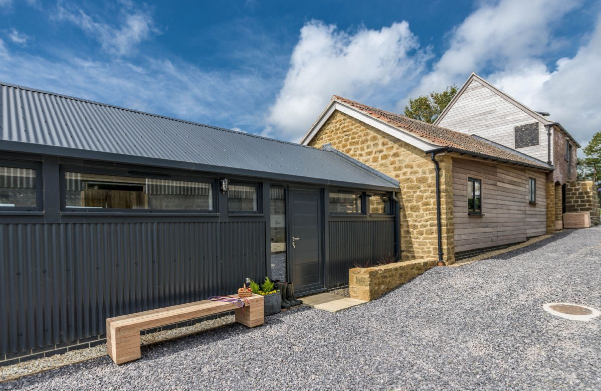 Hoods sits within an Area of Outstanding Natural Beauty at Kingsland Farm