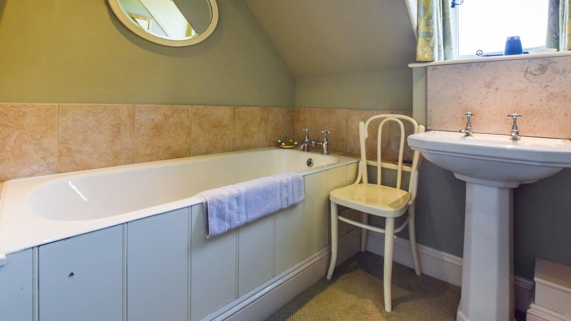 Family bathroom, Bellhouse, Bolthole Retreats
