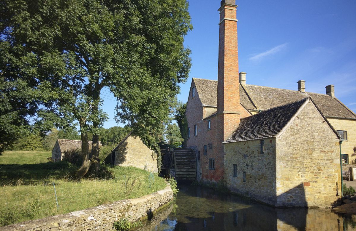 Lower Slaughter Mill & cafe is well worth a visit