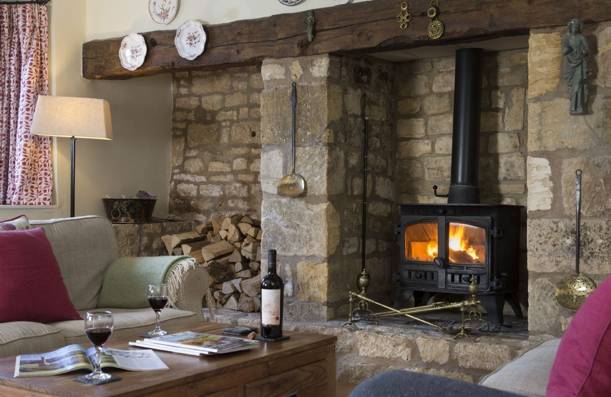 Ground floor: Wood burning stove in the sitting room