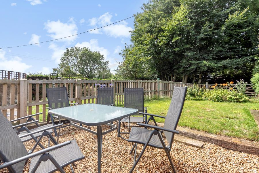 Mill View | Back Garden with Seating