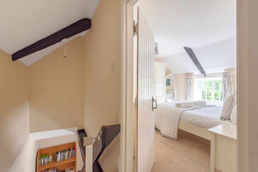 Mill View | Top of Stairs into Bedroom 1