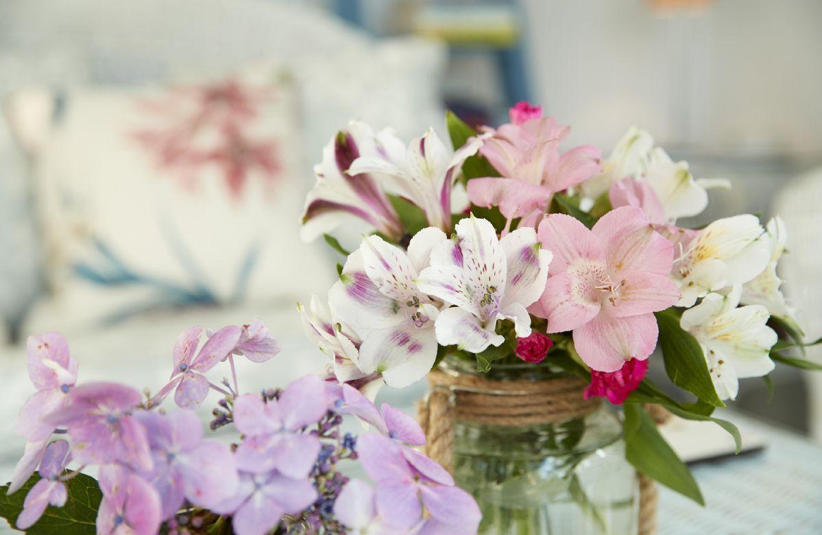 Fresh seasonal flowers