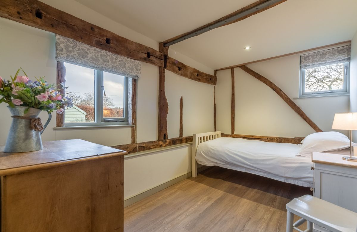 Ground Floor: Bedroom four with single 3' bed