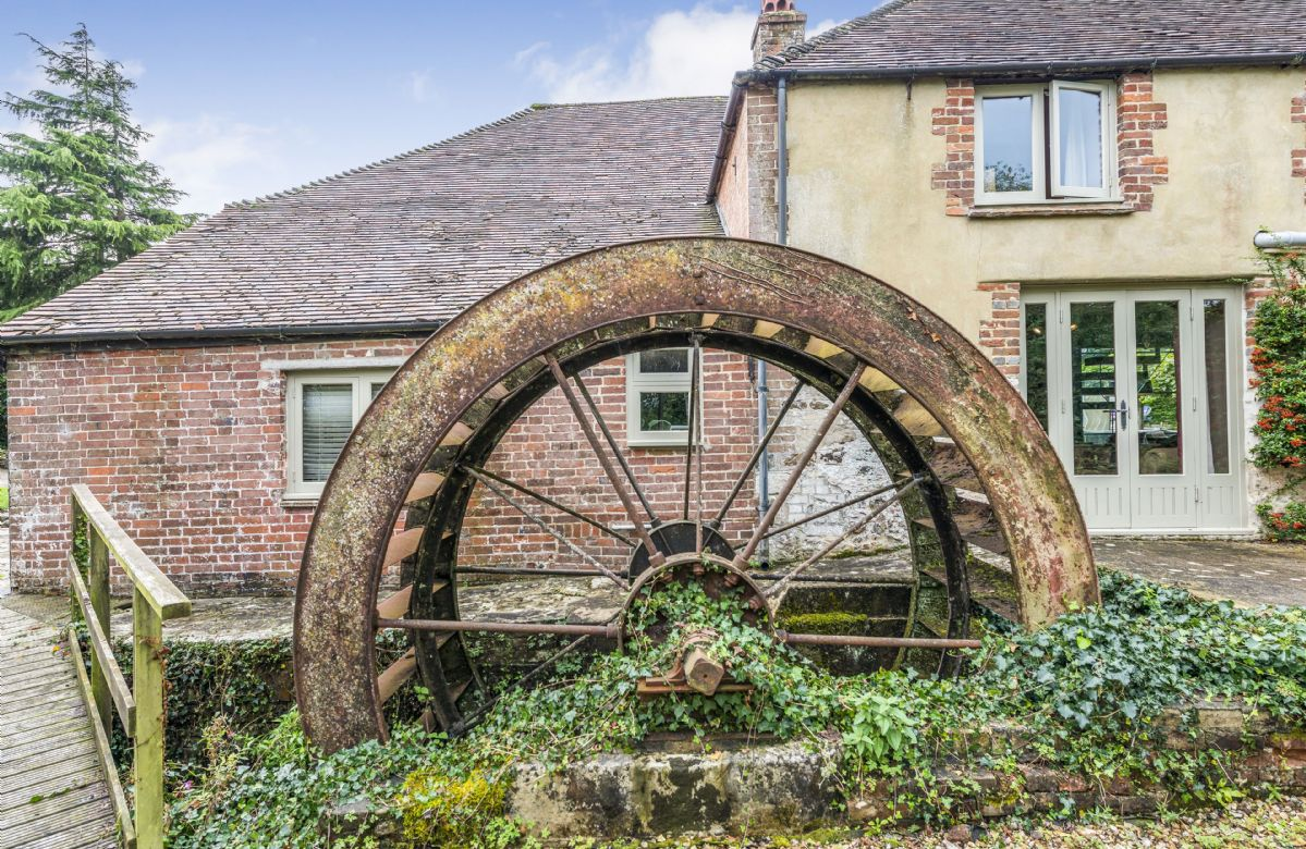 The original water wheel