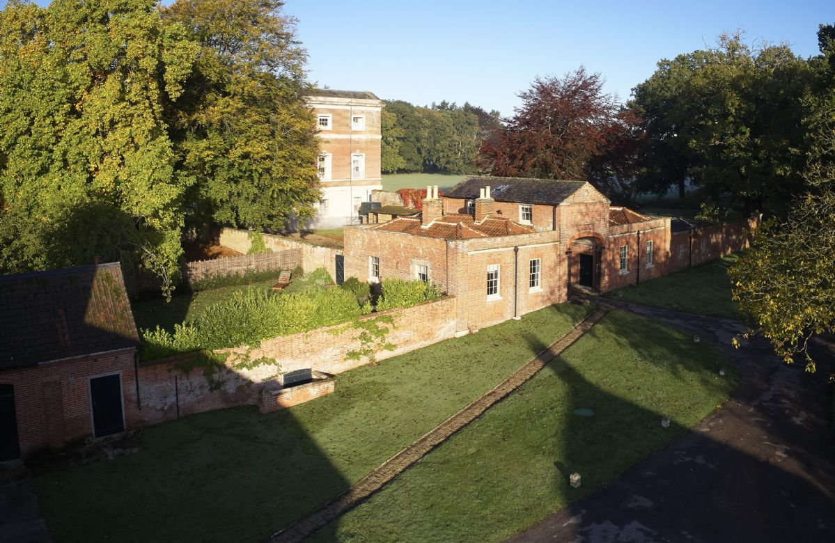 The Treasury is a luxurious one bedroom cottage on the historic and private estate of Wolterton Park