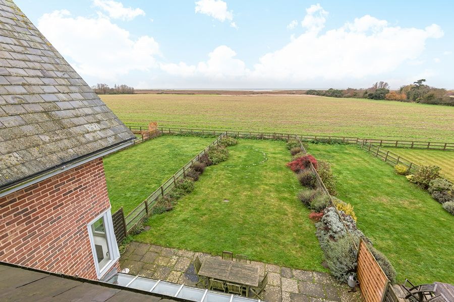 Sandpiper Cottage Titchwell | View from master bedroom