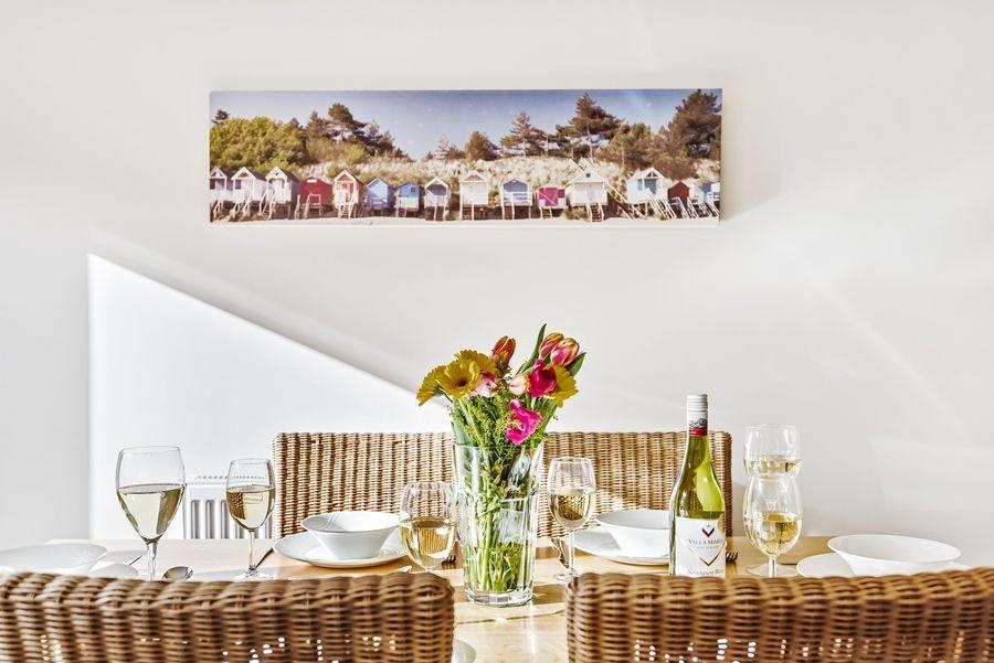 Church View   Kitchen table