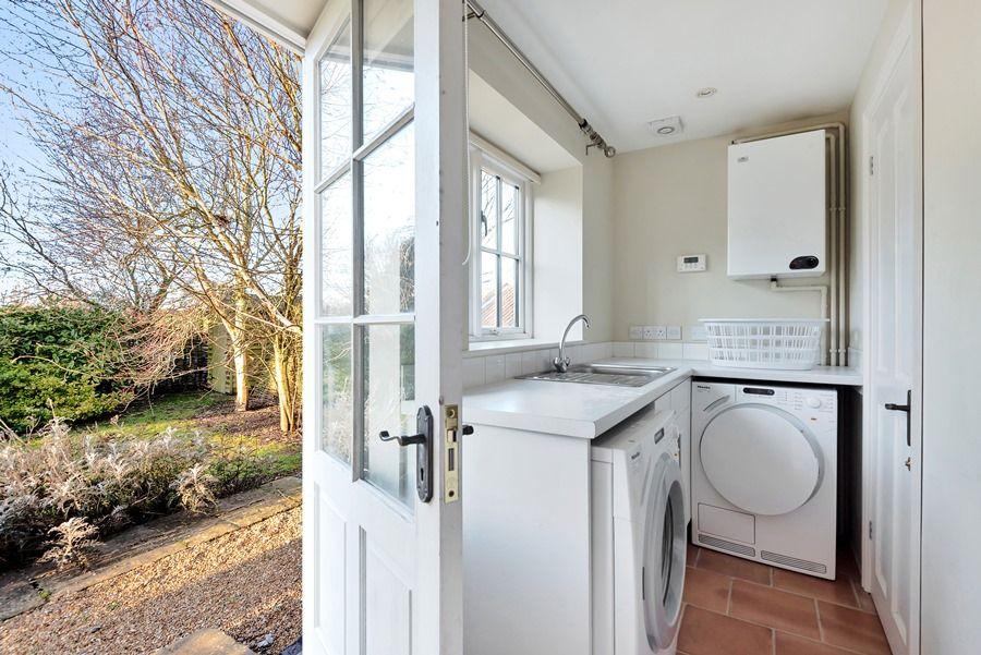 1 Waterhall Cottages   Back door